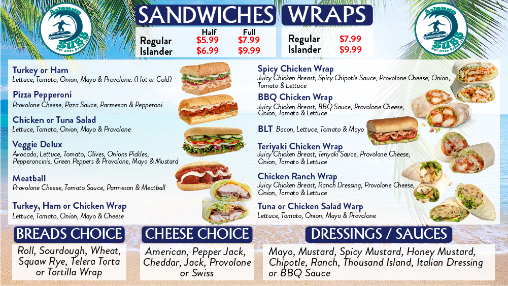 Avenue Subs Sandwiches and Wraps